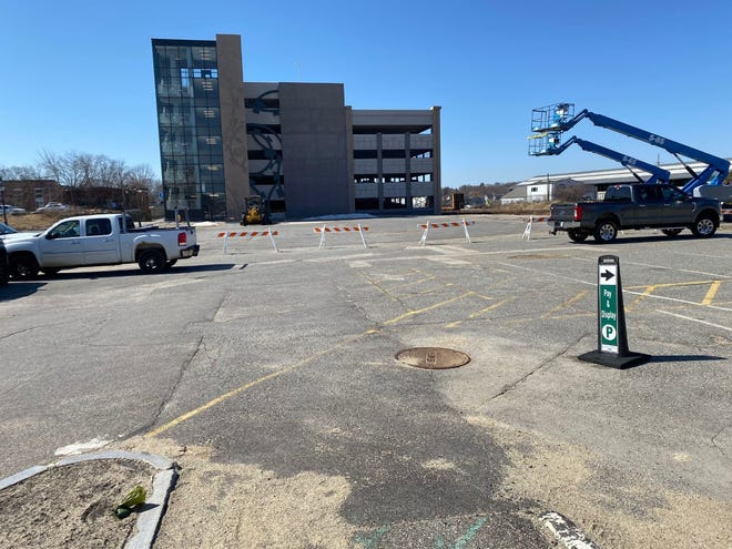 The area near Portsmouth's Foundry Place Garage doesn't feel safe to people walking to and from the garage, according to feedback city officials have received.
