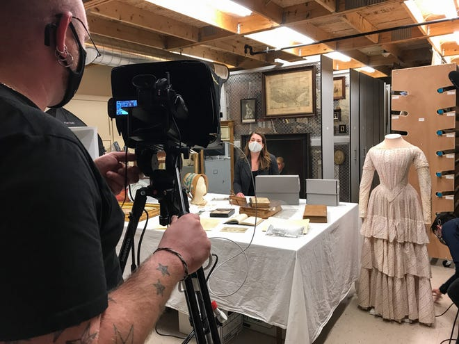 """Strawbery Banke Museum will present """"Behind the Curtain: Strawbery Banke Revealed,"""" a live online event on Thursday, March 25 at 7 p.m. The public is invited to experience the museum from behind-the-scenes at this free livestream."""