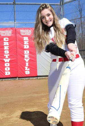 Senior Maci Head is set to lead the way for the Crestwood Red Devils this season.