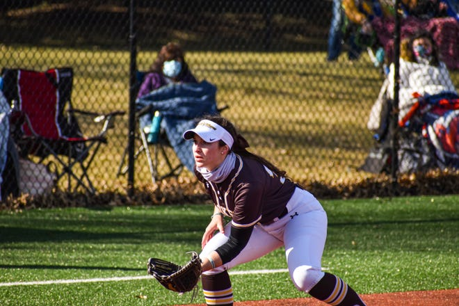 Green High School graduate and Baldwin Wallace senior softball player Kami Miracle is enjoying being back on the field and getting in one more year as a college athlete.