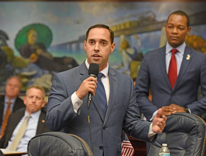 Rep. Bryan Avila, R-Miami Springs, has sponsored a proposal that would expand the way tourist-development tax money can be used. He pointed to projections that sea level rise will cause major flooding problems in the future.
