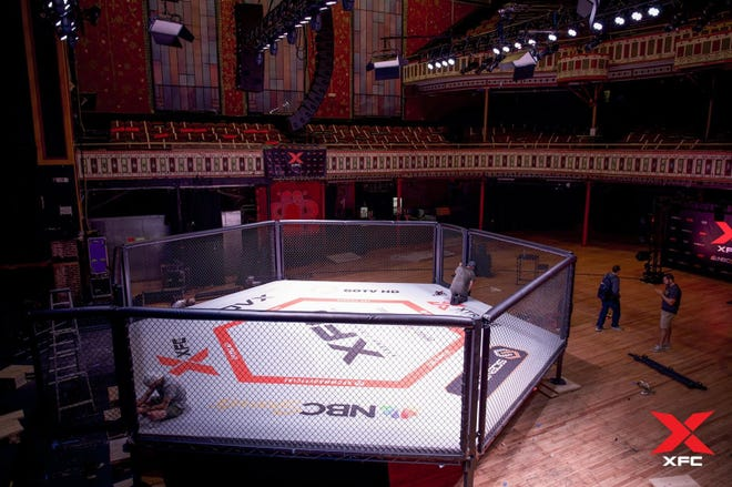 This photo from the most recent event, XFC 43, on Nov. 11, 2020 at the Tabernacle in Atlanta.