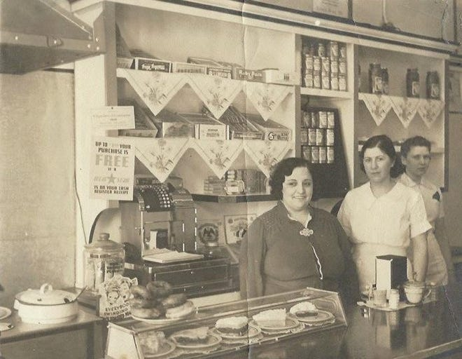 A significant business in downtown Shawnee in the 1940s, that started in the early days and was still going strong in the 21st century was the Hamburg King, located on east Main Street.