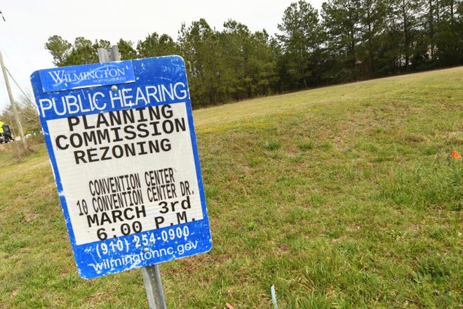 Two sites are being proposed for new housing developments being considered by the City of Wilmington's planning board, including 5017 Wrightsville Ave. which will include fewer than 10 units and would bring townhomes to the area. [KEN BLEVINS/STARNEWS]