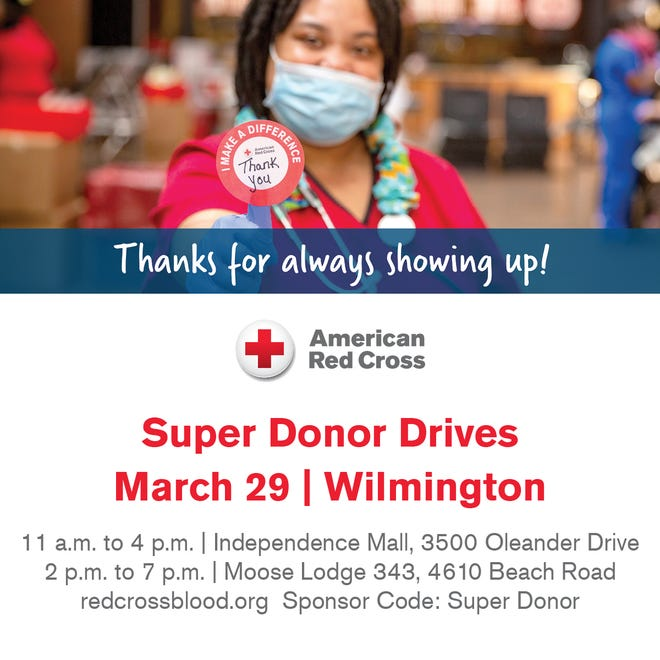 American Red Cross Super Donor Drives