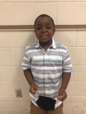 Isaiah Nixon of Malpass Corner Elementary is Pender County Schools' Student of the Week.