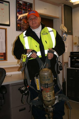 North Brookfield Fire Chief Joseph Holway