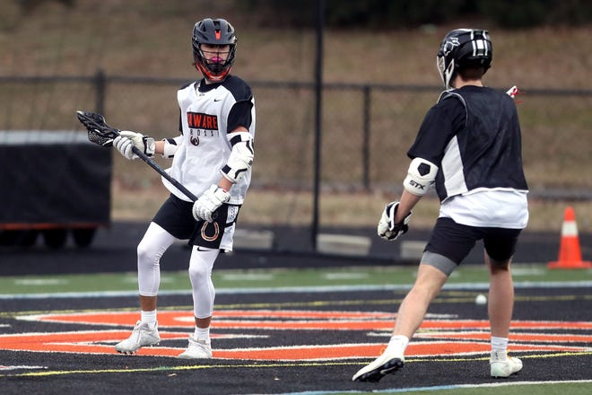 """Shane Manor is among the senior leaders who have impressed Delaware Hayes boys lacrosse coach Anthony Sanfillipo. """"We have a great group of senior leaders who ... have really found a way to not take anything for granted and just keep rolling with it,"""" Sanfillipo said."""
