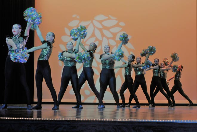 The Waxahachie High School Cherokee Charmers perform in their final appearance of the spring this past weekend at the WHS Performing Arts Center.