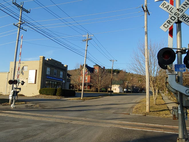 Work is planned for Pearl Street in Wellsville, with new drainage set to be installed near the railroad tracks.