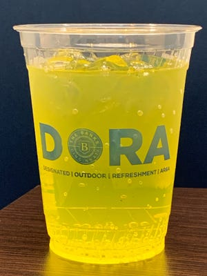 A DORA district is coming to the Banks. You will have to drink out of an official DORA cup.