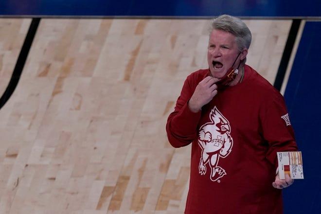 Iowa State coach Bill Fennelly's team starts Big 12 play on Jan. 2, 2022.