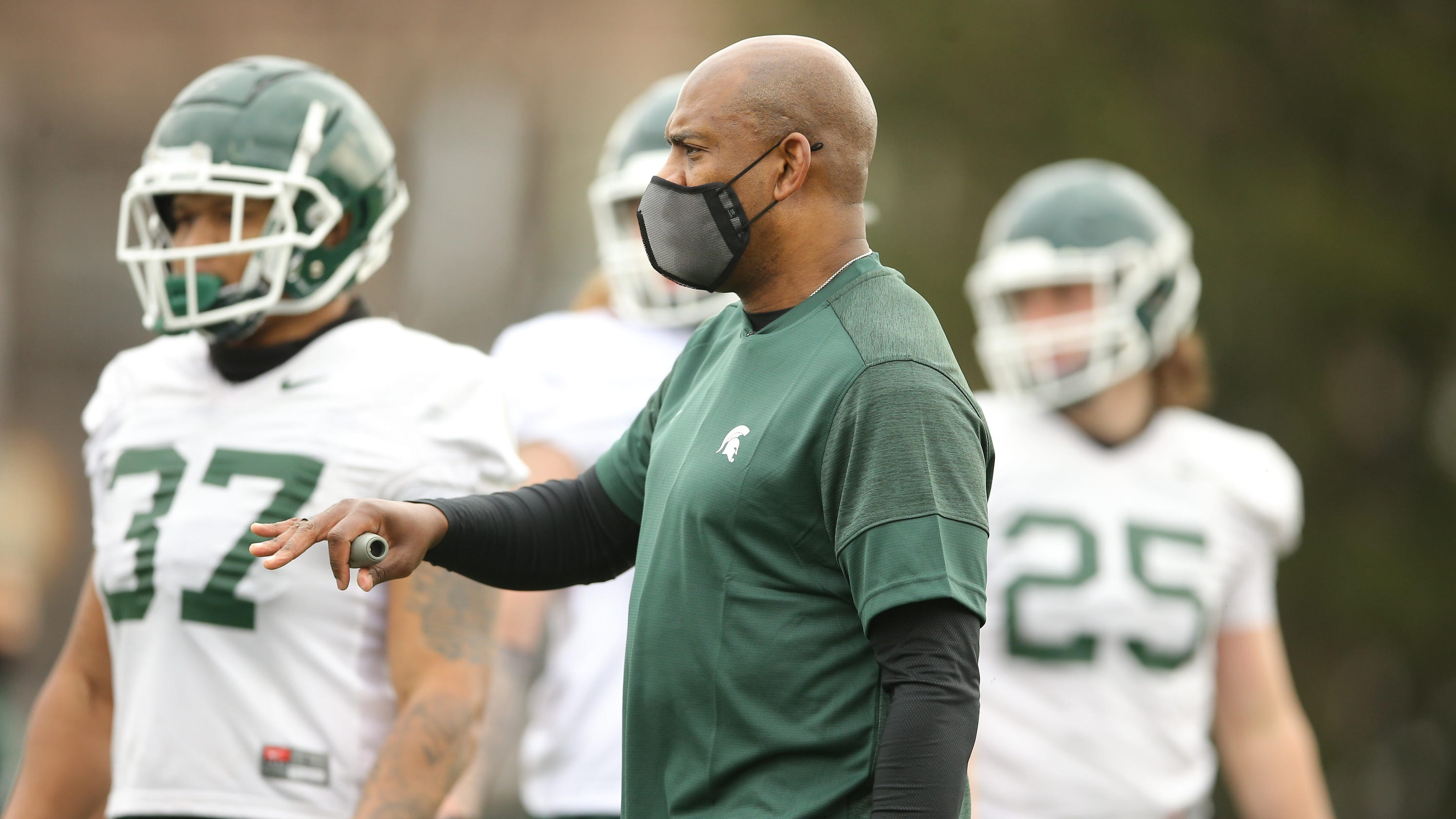 Michigan State football scrimmages again; will fans be allowed at spring game?