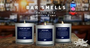 "Miller Lite is making a limited-edition line of ""Bar Smells"" candles."