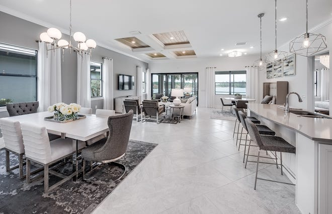 Avalon Park by Pulte Homes- Summerwood gathering room