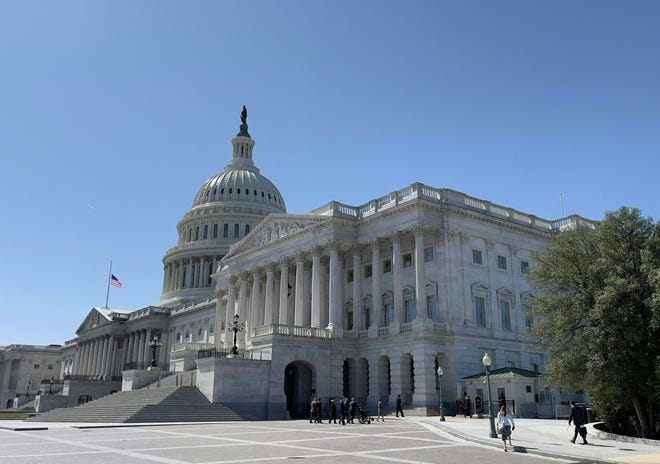 U.S. Capitol Building on March 22, 2021, in Washington, D.C.