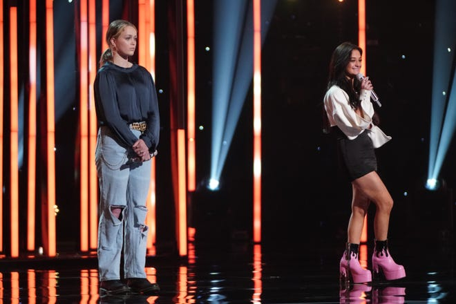 "Though some duos on Monday's ""American Idol"" gelled easily, others, like 15-year-old Claudia Conway and 17-year-old Hannah Everhart, needed time to find their rhythm."