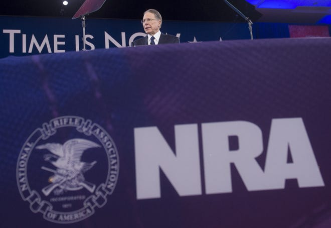 Wayne LaPierre, executive vice president of the National Rifle Association, in 2016.