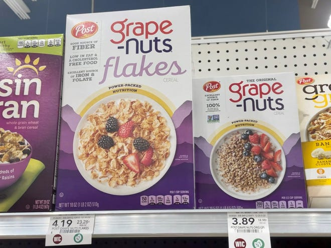 The Grape-Nuts shortage of 2021 is over.