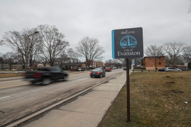 Council members in Evanston city outside Chicago voted March 22 in favor of giving funds to Black residents as a form of reparations for housing discrimination -- the first city in the United States to take such action.