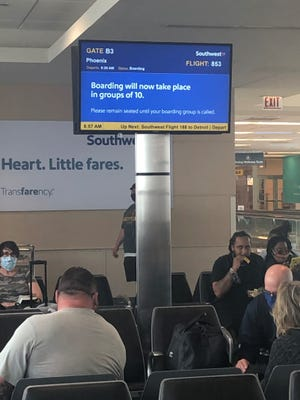 Southwest Airlines changed its boarding procedures last year to promote social distancing during the pandemic, boarding in groups of 10 instead of 30. On March 15, 2021,  the airline returned to its traditional boarding.