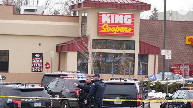 Multiple people were killed, including a police officer, in a shooting at King Soopers in Boulder, Colorado.