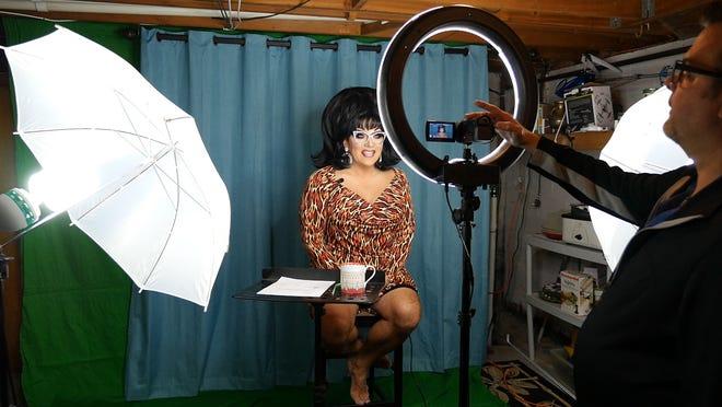 """""""Workhorse Queen"""" is a film about drag artist Mrs. Kasha Davis."""
