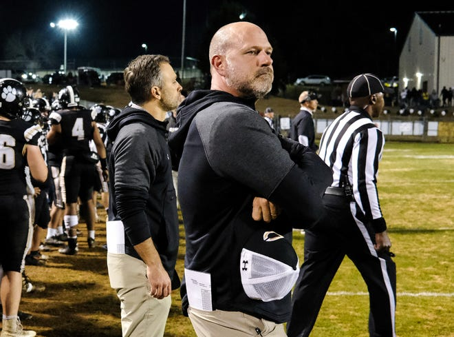 Michael Brown stepped down as coach of Commerce on Tuesday. He will be associate head coach for Jefferson. (Photo/Casey Sykes, For the Athens Banner-Herald)