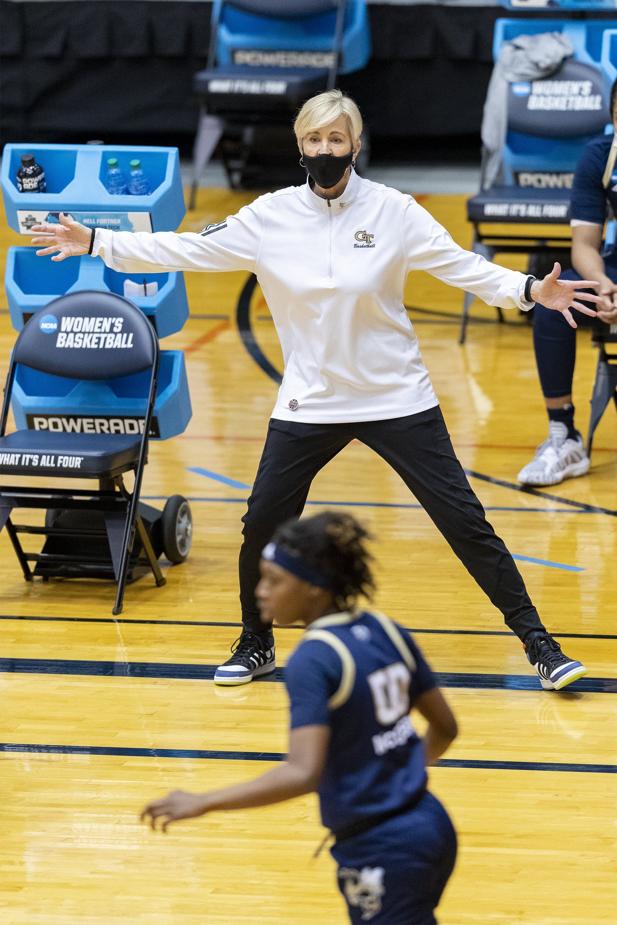 A shame for our game : Georgia Tech women s coach Nell Fortner tees off on NCAA s inequities