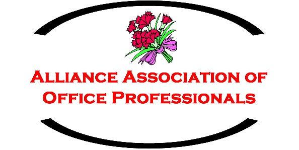 Alliance Associaton of Office Professionals logo