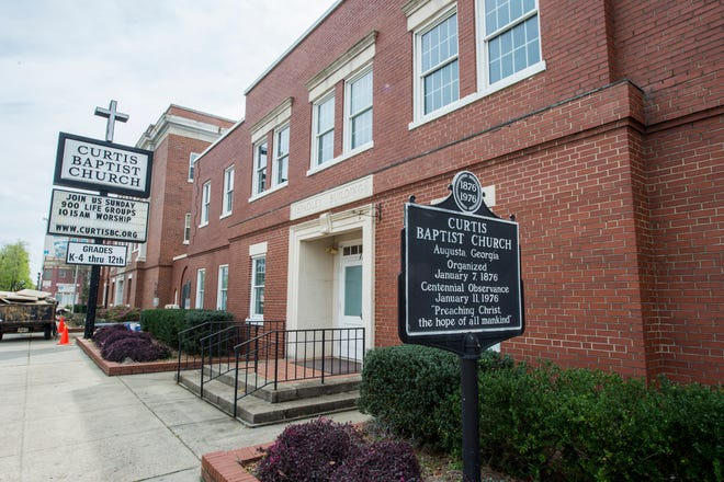 Curtis Baptist Church and its school covers more than seven acres downtown, but the church is outgrowing the property.