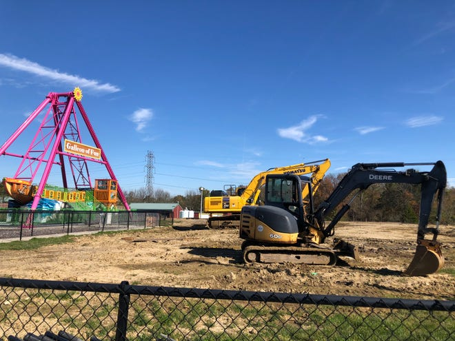 The Mount Laurel Funplex is going through the construction process right now.