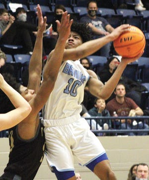 David Castillo turned in a phenomenal freshman season for Bartlesville High School and has already garnered a D-I scholarship offer. He averaged nearly 24 points a game and hit a three-pointer in all 21 games.