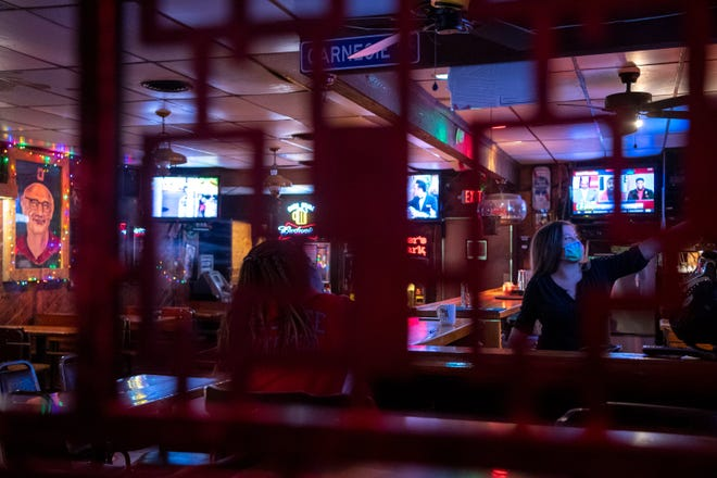 Bar owners say they had their best week in a year with the recent March Madness basketball games and St. Patrick's Day, though distancing requirements are still in place.
