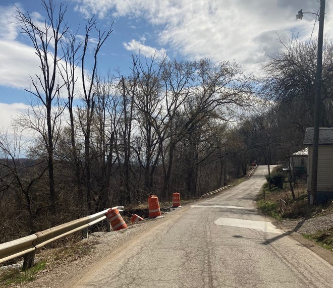 Cambridge city and township officials are trying to determine who owns a portion of Coshocton Avenue after a slip created hazardous driving conditions. Neither the city or township claim ownership of the roadway that faces a possible closure.