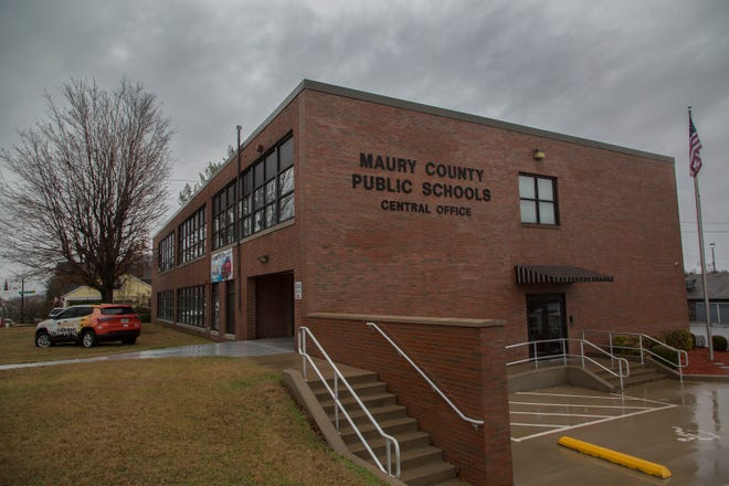 Maury County Public School's Central Office is located on W. 8th Street in Columbia, Saturday, Feb. 10, 2018.