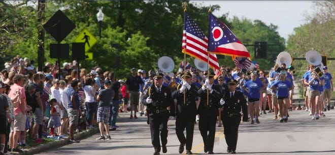 The city of Hudson and the American Legion have announced the 2021 Memorial Day Parade has been canceled. This photo is from the 2019 parade.