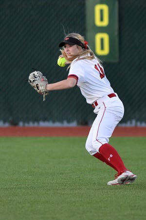 Lubbock-Cooper's Malloree Smith made the Class 5A Texas Girls Coaches Association softball all-state team.