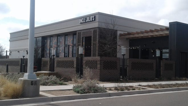 Uncle Julio's, on Slide Road in front of the South Plains Mall, is set to open its doors on Wednesday, March 31.