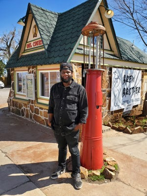 Elijah Vick opened Brew Brother Coffee in October and has had to alter his business plan to respond to the challenges posed by the COVID-19 pandemic.