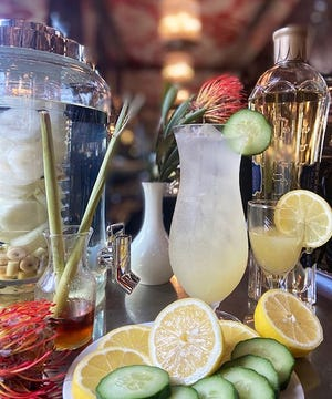The Anti-Oxidant cocktail is among six new spring-themed cocktails at The Chesterfield.