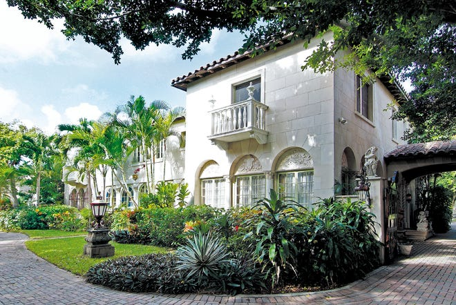 A partially renovated landmarked house at 127 Dunbar Road in Palm Beach just sold for a recorded $26.125 million. The developer who sold it bought it last summer for a recorded $17 million.