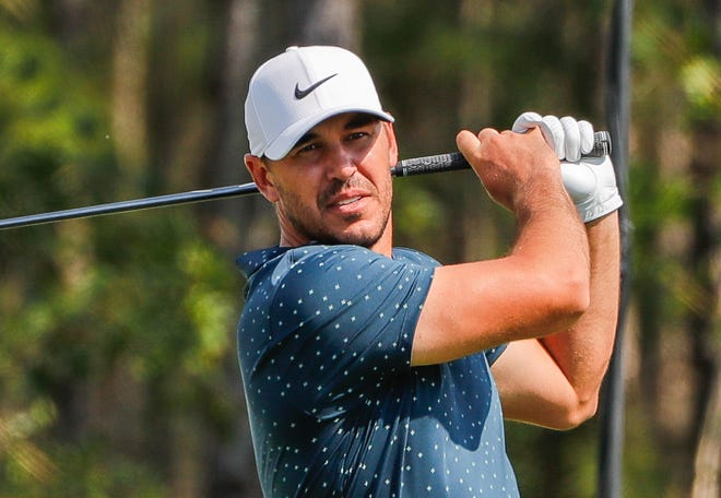 """Brooks Koepka, competing in the World Golf Championships in February, had surgery on his right knee last week to repair """"a right knee cap dislocation and ligament damage."""""""