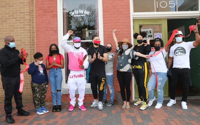 The Hip-Hop Spot clothing store opens in Downtown Petersburg in March of 2021.
