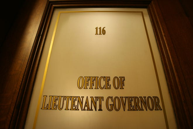 On the first floor of the State House, the office to be filled.