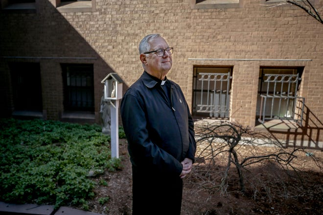 """Roman Catholic Bishop Thomas Tobin, who is due to retire in two years, sees his immediate goals as """"evangelizing, reaching out, rebuilding the church post-pandemic."""""""