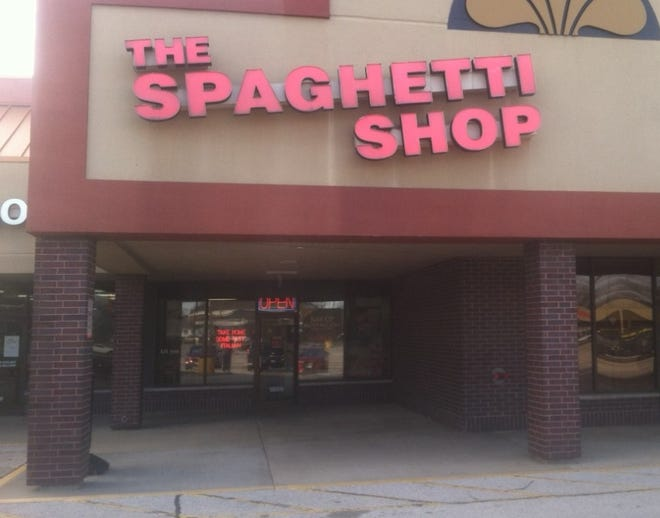 The Spaghetti Shop at 1869 Sangamon Ave., Springfield.