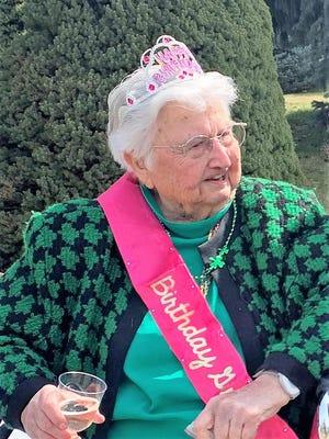Yreka's Nickie Meeks celebrated her 99th birthday on March 17, 2021.