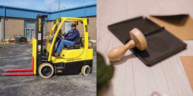Pamlico Community College will offer a one-day Forklift Training course at the Grantsboro campus and a Notary course at the college's Bayboro Center on March 27.