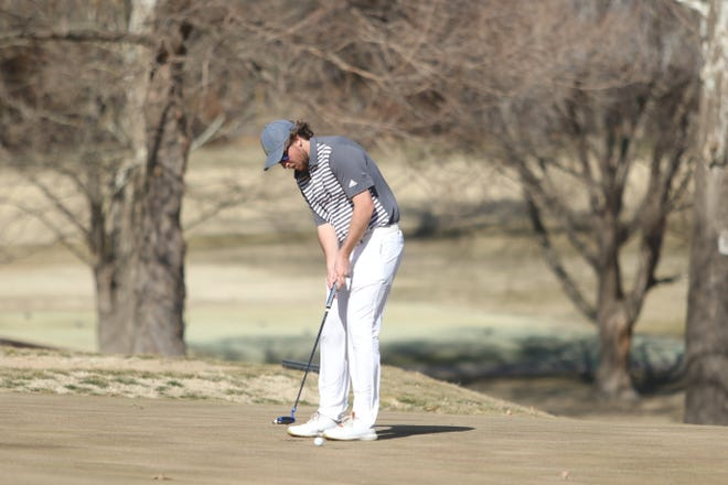 Given a second senior season because of COVID-19, Washburn's Andrew Beckler is making the most of it. On Tuesday, he capped a dominating run to the Washburn Invitational title, taking a 13-stroke win for his third victory in as many tournaments this season.